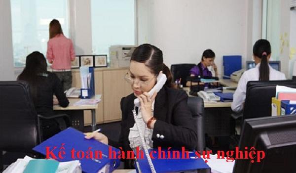 Công việc cần làm của một kế toán hành chính sự nghiệp