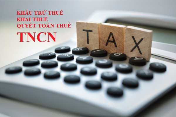Khấu trừ thuế TNCN