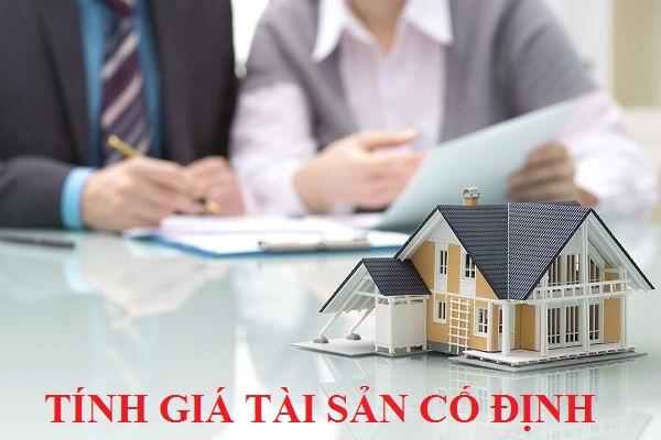 Phương pháp tính giá tài sản cố định