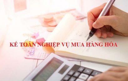 Kế toán nghiệp vụ mua hàng hóa