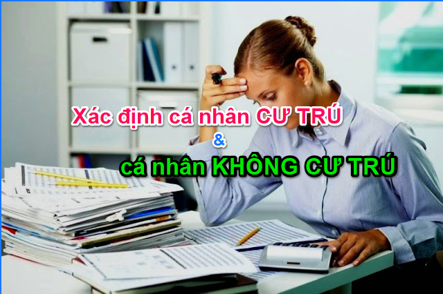 Cách tính thuế TNCN cho cá nhân không cư trú