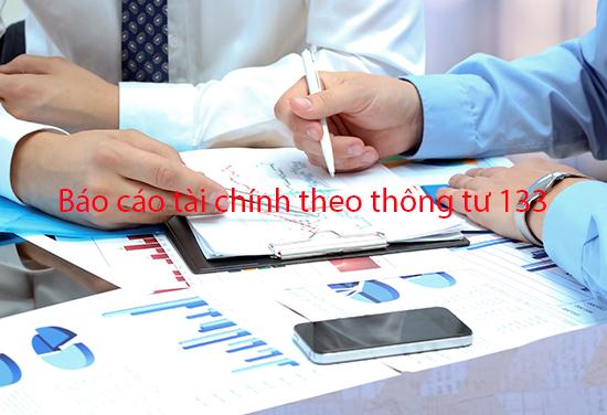 Mẫu thuyết minh báo cáo tài chính theo thông tư 133