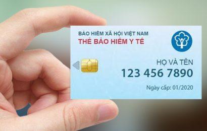 Từ tháng 1/2020 thay thẻ BHYT giấy bằng thẻ BHYT điện tử