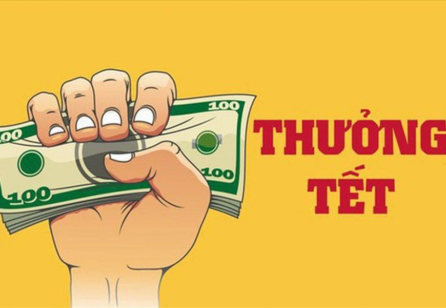 Tiền thưởng Tết có phải đóng thuế TNCN, thuế TNDN và BHXH không?