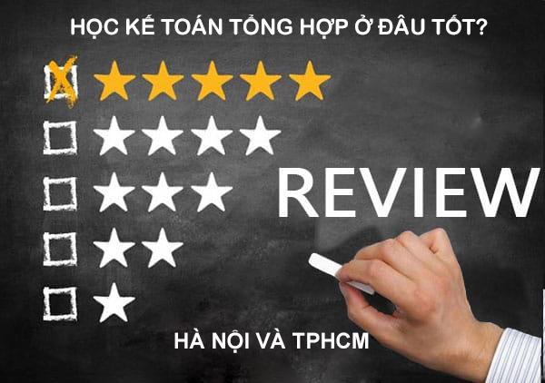 Review Top 3 địa chỉ học kế toán tổng hợp tốt nhất Hà Nội TPHCM