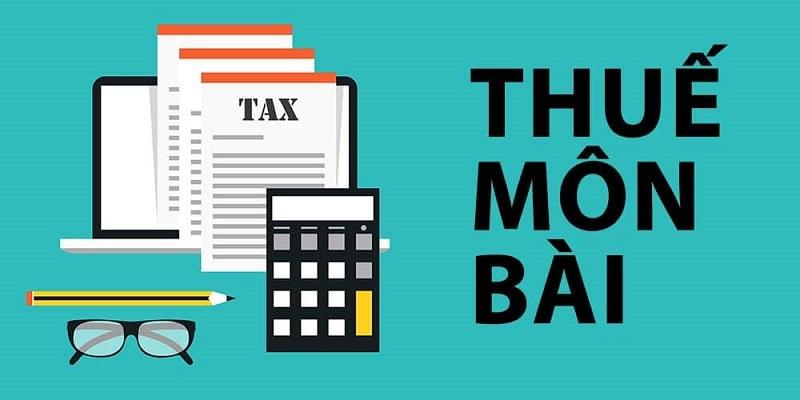 thuế môn bài năm 2020