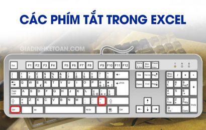 Các Phím Tắt Trong Excel – Mẹo Nhớ Phím Tắt Excel